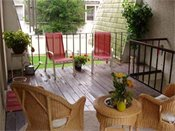Colony Apartment Homes Deck
