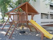 Hopkins Plaza Townhomes Playground