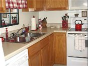 Highlands Apartments Kitchen