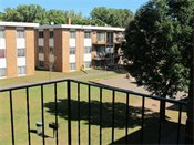 Parkview Apartments Balcony