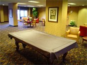 Rivergate Apartments Billiard Table