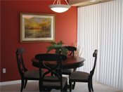 Raspberry Woods Model Dining Room