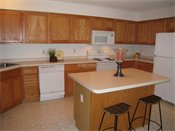 Raspberry Woods Model Kitchen