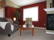 Raspberry Woods Model Living Room