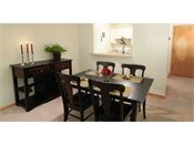 Inglewood Trails Model Dining Room