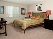 Creekside Apartment Homes Model Bedroom