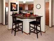 Creekside Apartment Homes Model Kitchen