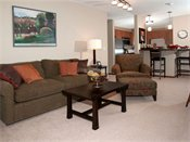 Creekside Apartment Homes Model Living Room