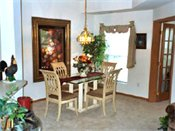Provence Apt. Homes Model Dining Room