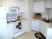 Winfield Townhomes Model Kitchen