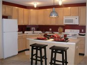 Heritage Landing Townhomes Model Kitchen