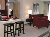Heritage Landing Townhomes Model Living Room