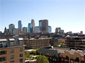 Heritage Landing Townhomes Minneapolis Skyline View
