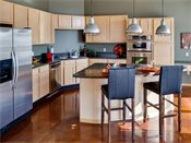 Heritage Landing Townhomes Penthouse Kitchen