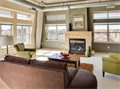 Heritage Landing Townhomes Penthouse Living Room