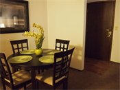 Hampden Square Apts & Townhomes Model Dining Room