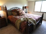 Oak Pointe Apartment Residences Model Bedroom
