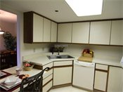 Oak Pointe Apartment Residences Model Kitchen
