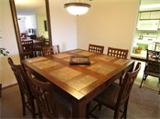 Oak Pointe Apartment Residences Model Dining Room