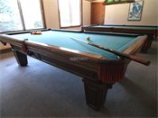 Oak Pointe Apartment Residences Billiard Room