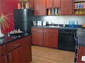 Uptown Lake Apartments Kitchen