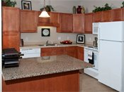 Waterstone Place Model Kitchen
