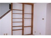 Homestead Village Townhomes Built-In Shelving