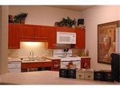 Arbor Pointe Senior Apartments Community Room Kitchen