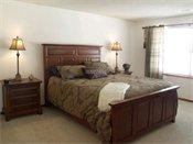 Devonshire Apartments Model Bedroom