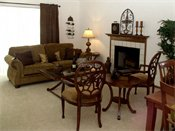 Devonshire Apartments Model Living Room
