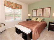 Watertower Apartments Model Bedroom