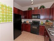 Watertower Apartments Model Kitchen