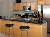 Riverview at Upper Landing Model Kitchen