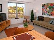 Riverview at Upper Landing Model Living Room