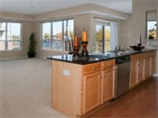 Riverview at Upper Landing Model Kitchen