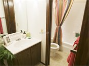 Salem Green Model Bathroom