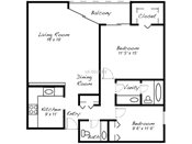 Salem Green Two Bedroom Floorplan