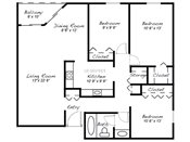 Salem Green Three Bedroom Floorplans