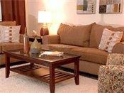Point of America Model Living Room