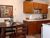 Point of America Model Kitchen and Dining Room
