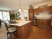 Parkwood Pointe Apartments Model Kitchen