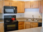 Oakleaf Townhomes Kitchen